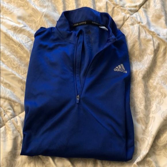 adidas Jackets & Blazers - Blue Adidas Running jacket, size medium